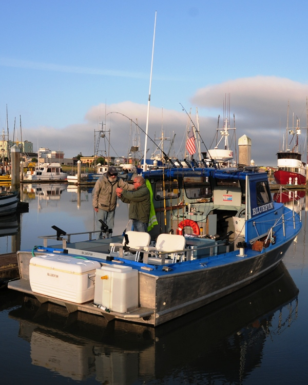 Phil Glenn's new boat is a sturdy, comfortable fishing platform